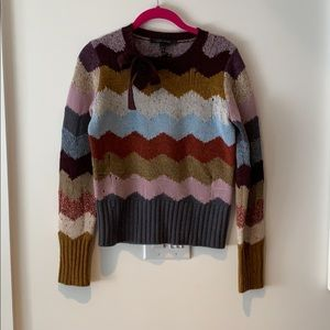 Marc Jacobs Sweaters - Marc Jacobs cashmere chevron intarsia sweater XS